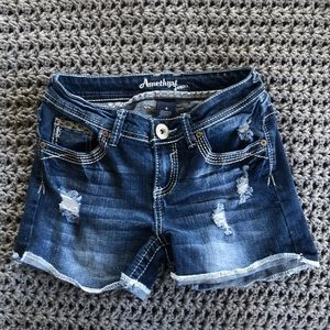 Amethyst Jeans Shorts Size 0